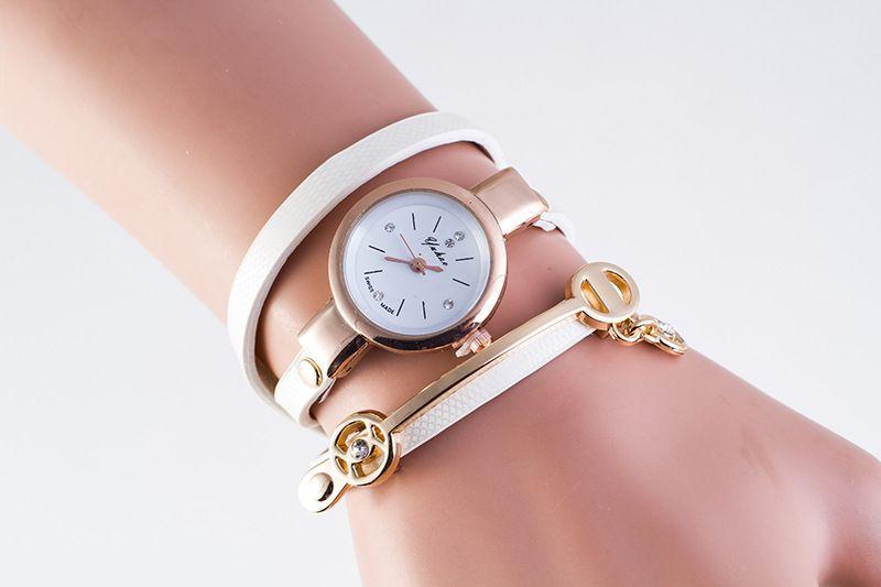 Fashion New Summer Style Leather Casual Bracelet Watch Wristwatch Women Dress Watches Relogios Femininos Watch Gift