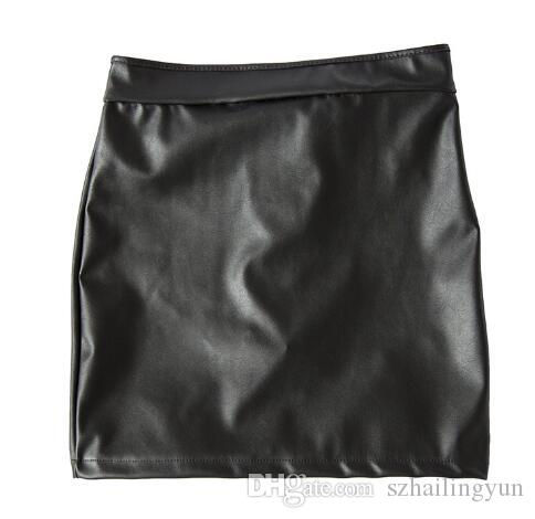 Womens Sex Fetish Spanking Dress Stretch to Fit PVC Leather Open Buttocks Mini Dress with Locking Panties