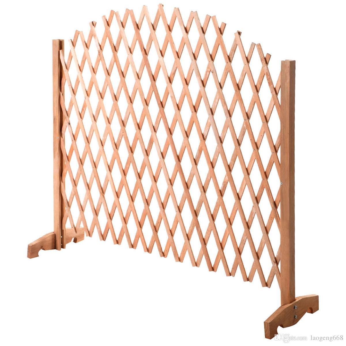 2018 Expanding Portable Fence Wooden Screen Kid Patio Garden Lawn Dog Gate  Pet Safety From Laogeng668, $22.11 | Dhgate.Com