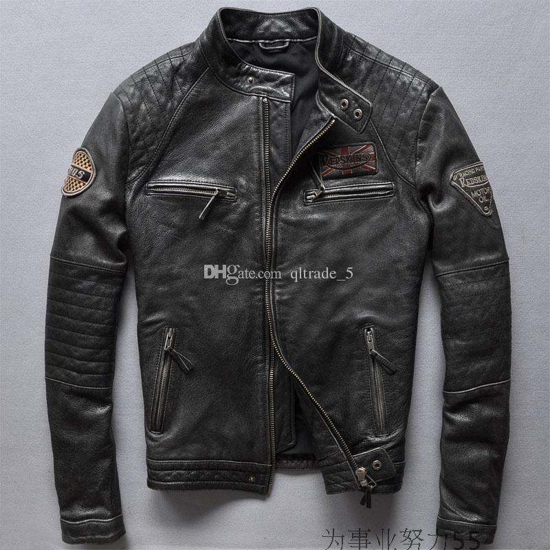 2017 Redskin Vintage Genuine Leather Jackets Motorcycle Jackets ...
