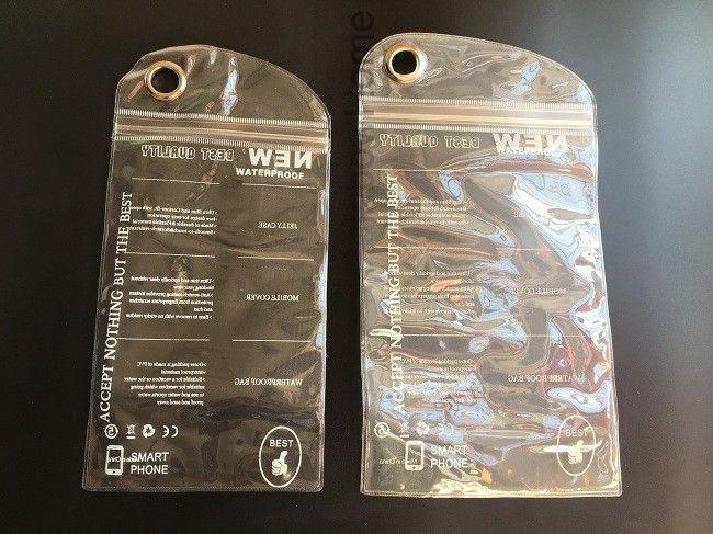 Impermeabile Jelly Zipper Sacchetto di plastica di OPP Packaging Il pacchetto iPhone Pro 11 XS Max XR X 8 Inoltre Samsung S10 Lite Nota 10