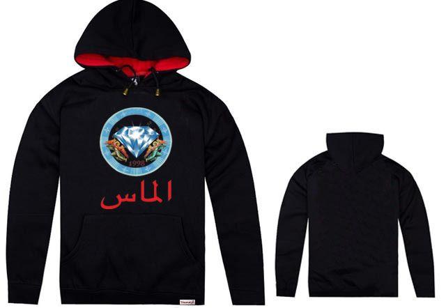 New Men's Hoodies Fashion Pattern Thickening Diamond Supply Casual O Neck Hoodie Hoodies Sweatshirts for Mens Clothing H2