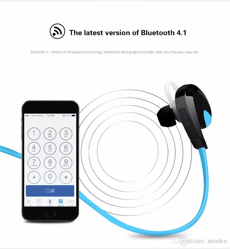 new ear hook Factory Sale H7 Outdoor Running Sports Wireless Bluetooth 4.0 Stereo Headsets In-ear Earphones For iphone 5 6 7 Plus Samsung LG