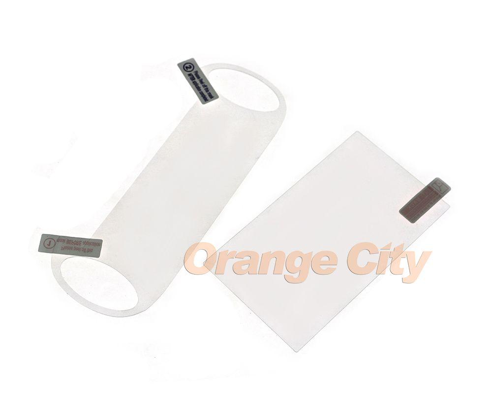 Hote New 9H Glas Displayschutzfolie 5 Zoll LCD Anti Film + Rückseite Schutzfolie für PSV PS VITA PSVITA 1000