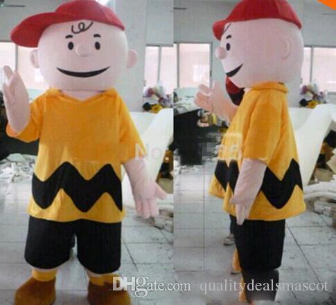 hot new cartoon character charlie brown mascot costume fancy dress costumes adult costume knight costume batman costumes from qualitydealsmascot