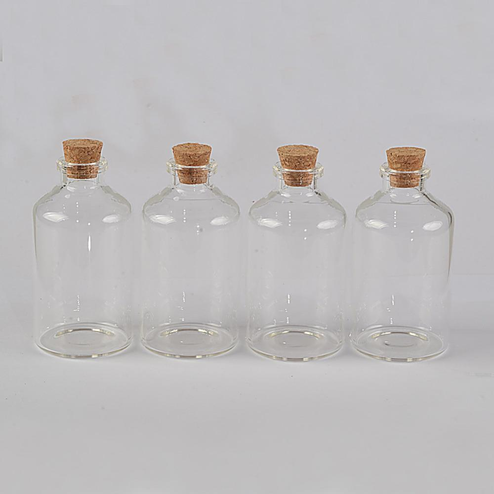 40x75x12 5 Mm 60 Ml Empty Small Mouth Glass Bottles With Cork DIY Wishing Bottles Containers Vials High Quality Bottle Lock China Glass Balustrade Fo Cheap