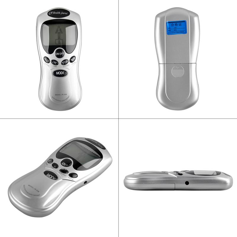 2 Electric Slimming Relaxing Massager Apparatus Therapy Massageador Machine Sculptor Health Care Acupuncture Pulse Massager EU US 0613008