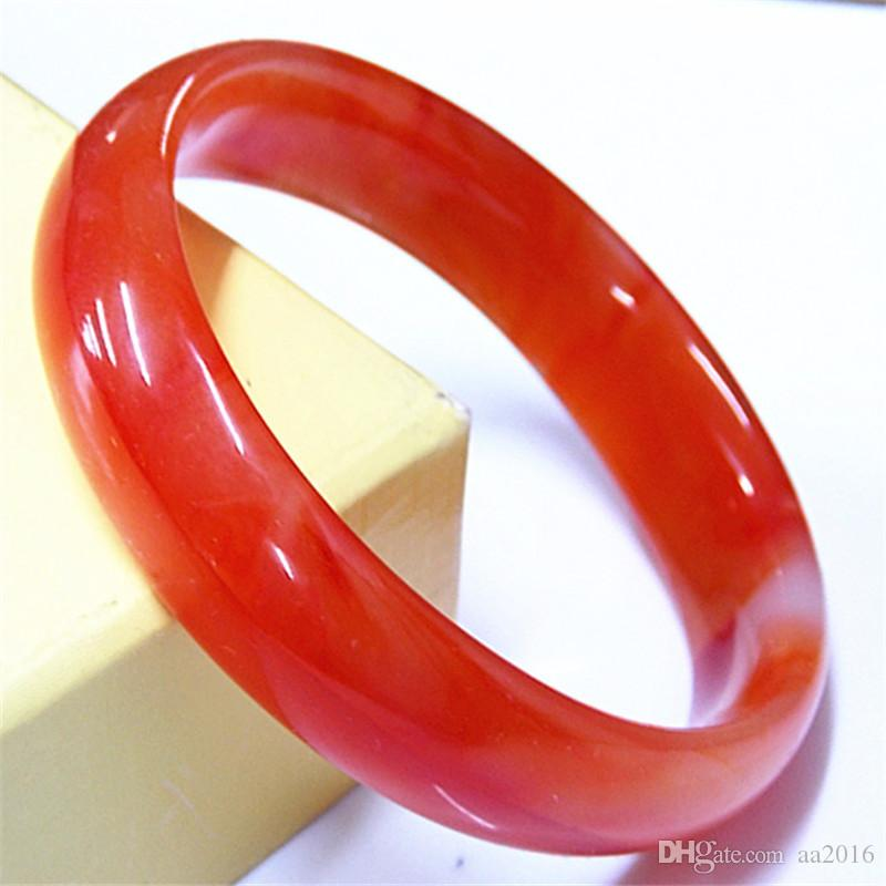 20008 Natural Jade Bracelet The width is about 12mm-15mm, the diameter of 54mm-64mmAgate Bracelets
