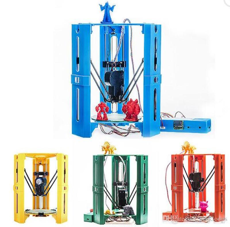Mini DIY Assembled 3D Printer 100*100mm Printing Size