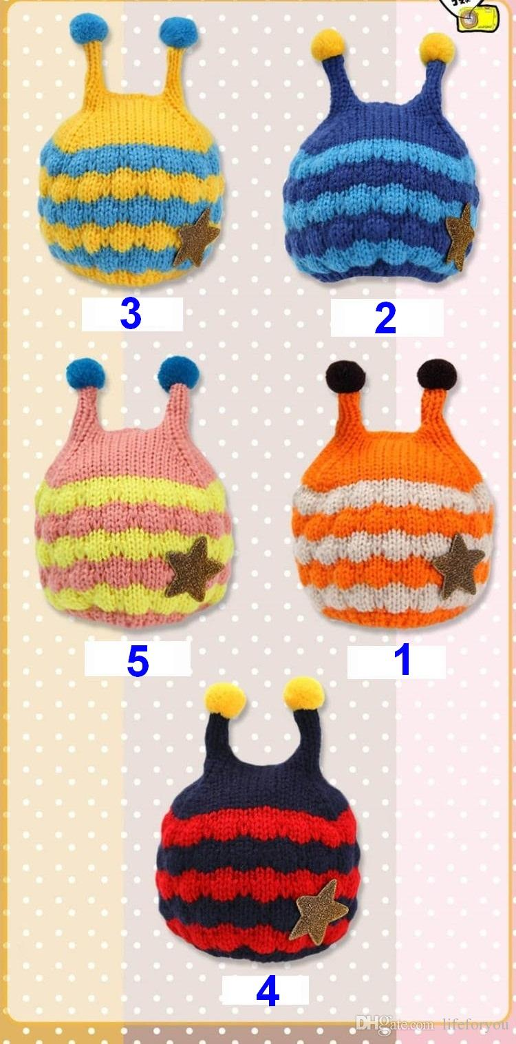 Cappelli bambini Cappelli cappelli bambini Cappelli cappelli a maglia cappelli di lana bambini 0-3 anni