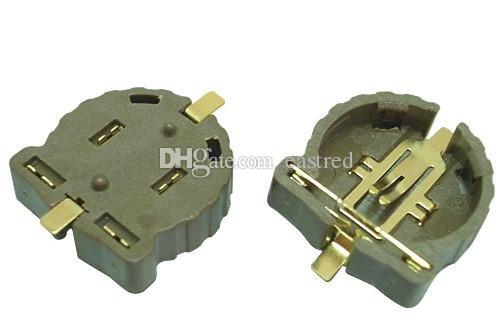 / CR1220 bouton support de la pile de cellules / femelle / clip, porte-piles SMT CR1220-2 ER