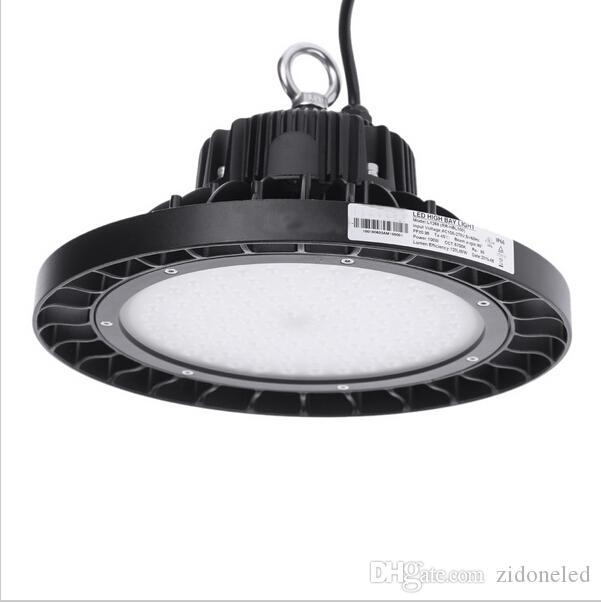 Ufo Led High Bay Light Round Led Warehouse Lamp Ip65 Led Industrial Lighting Fixture Ac85 265v 100 120lm W 100w 150w 200w 250w