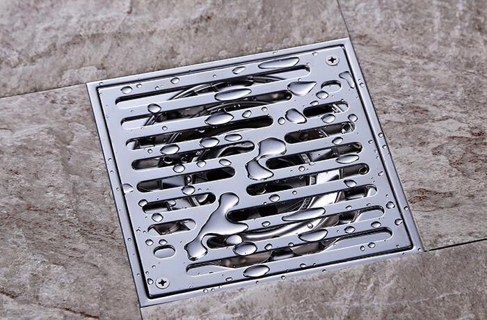 15x15cm 좋은 304 스테인리스 악취 마루 배수 장치 목욕탕 목욕탕 목욕 샤워 마루 배수로 싱크 부엌 방수기 DR096