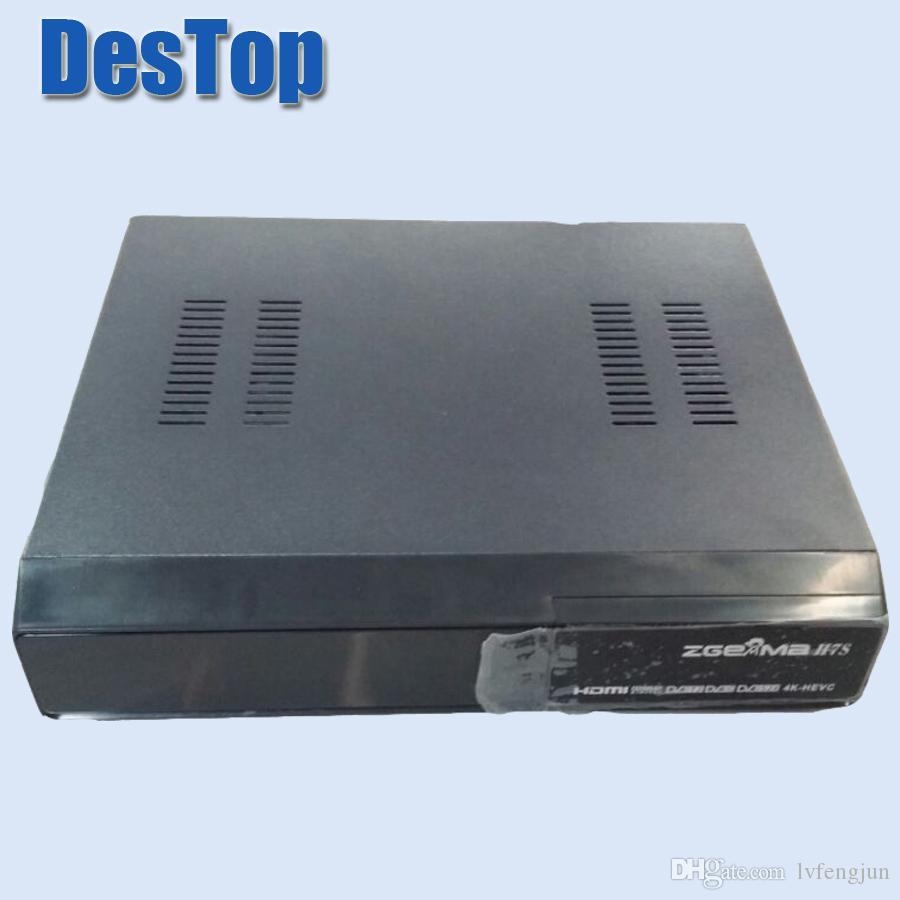 4K UHD Zgemma H7S 2xDVB-S2X DVB-T2/C HEVC H 265 4K satellite receiver Linux  Enigma 2 IPTV BOX 12,000 DMIPS CPU PROCESSOR