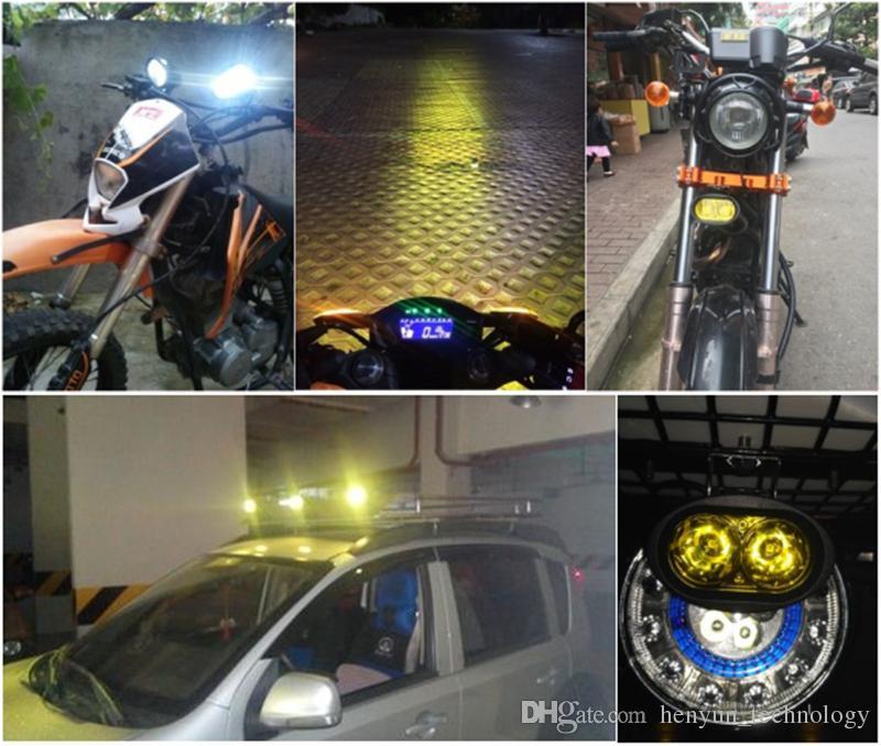 1 STÜCKE 12-80 V Universal Super Helle Led Scheinwerfer Wasserdichte Scheinwerfer Externe Lichter für Auto / Motorrad