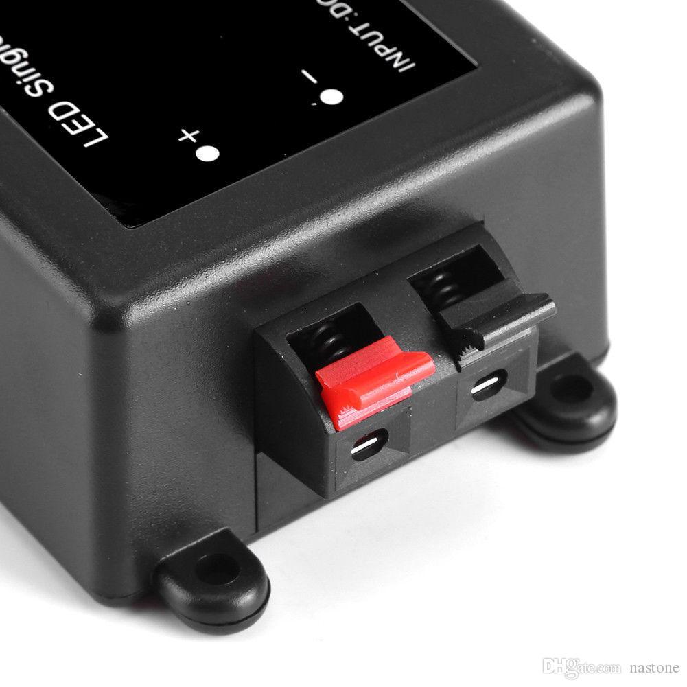 12-24 V 8A RF Uzaktan Kumanda Tek Renk LED Şerit Işık Için Dimmer Anahtarı