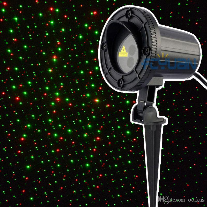 2019 Outdoor Christmas Laser Lights Red Green Waterproof