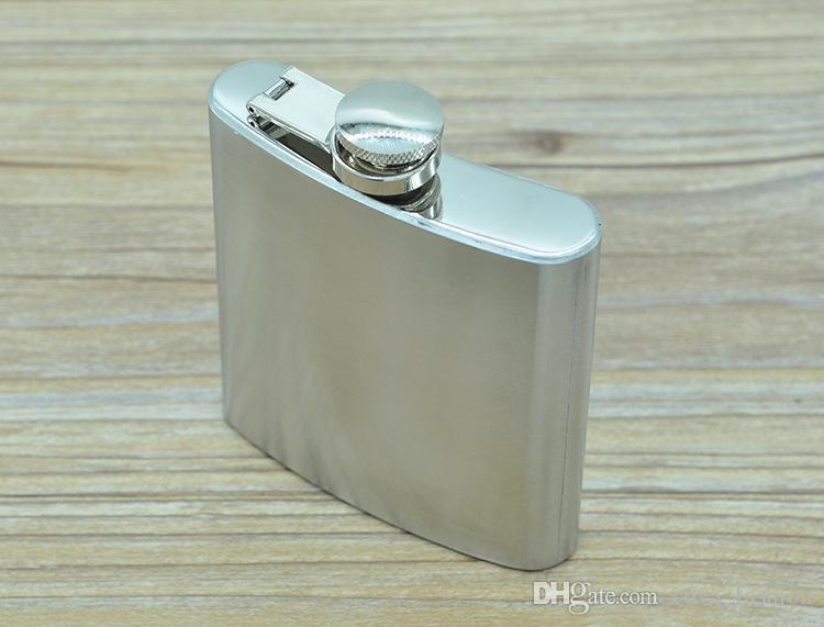 4 oz 5 oz 6 oz 7 oz 8 oz 10 oz Paslanmaz Çelik Cep Şişesi Taşınabilir Açık Flagon Viski Stoup Şarap Pot Alkol Şişeleri