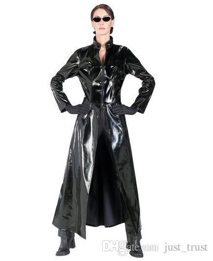 Hot Sexy bodysuit Costumes Matrix DS PVC clubwear Presidiários Bondage sapcesuit Fetters Cosplay pornográficos lingeries sexy
