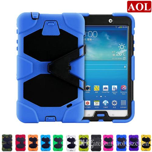 new style 91e0b e57ed Tablet pc case for samsung GALAXY Tab 4 8 T330 7.0 T230 Tab3 P3200 10.1  P5200 silicone waterproof dustproof resistance shell