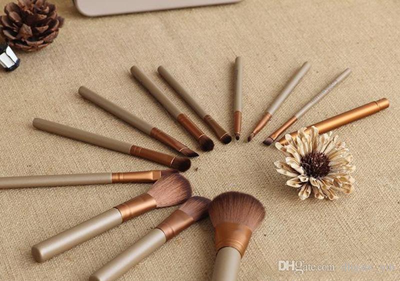Hot Makeup Brushes Cosmetic Facial Make up Brush Tools Makeup Brushes Set Kit With Retail Box