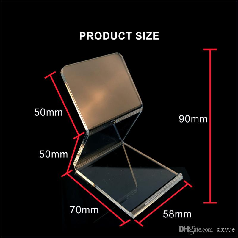Acrylic mobile phone display stand cell phone Mount Holder Show shelf for iphone Samsung huawei HTC All phone