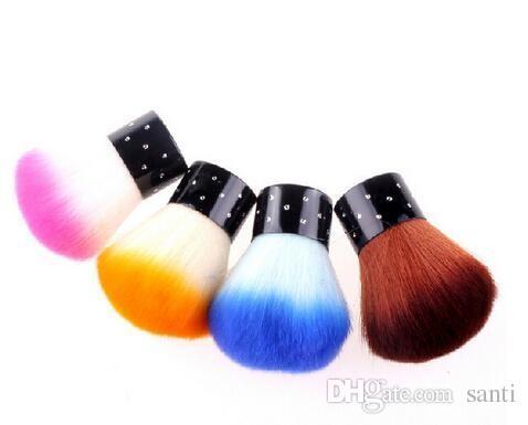 Escova de unhas Para Acrílico UV Gel Unha Polonês Art Decor Unhas Poeira Limpo Arte Prego Ferramentas