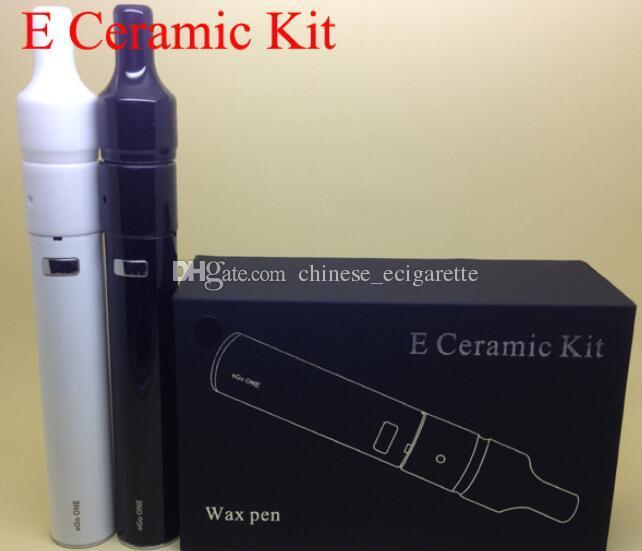 Donut Starter kit for dry herb vaporizers wax Pen Ecigs E ceramic kit V2 ceramic heating coil atomizer vs ago G5 globe wax