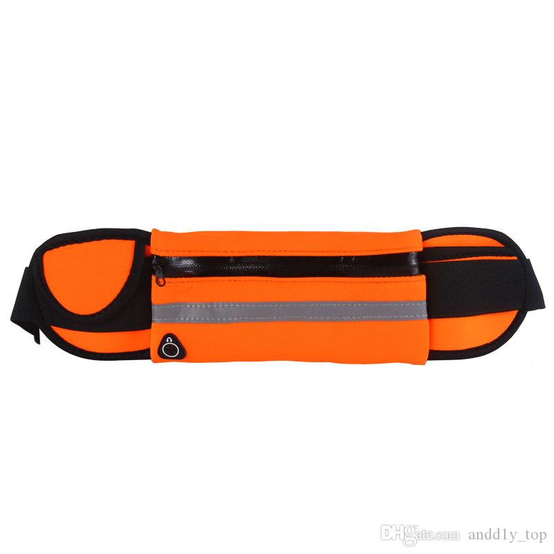 Tasche a marsupio in vita con tasche sportive impermeabili iPhone 8 X 7 Plus Borse da corsa funzionali Samsung con borsa campioni