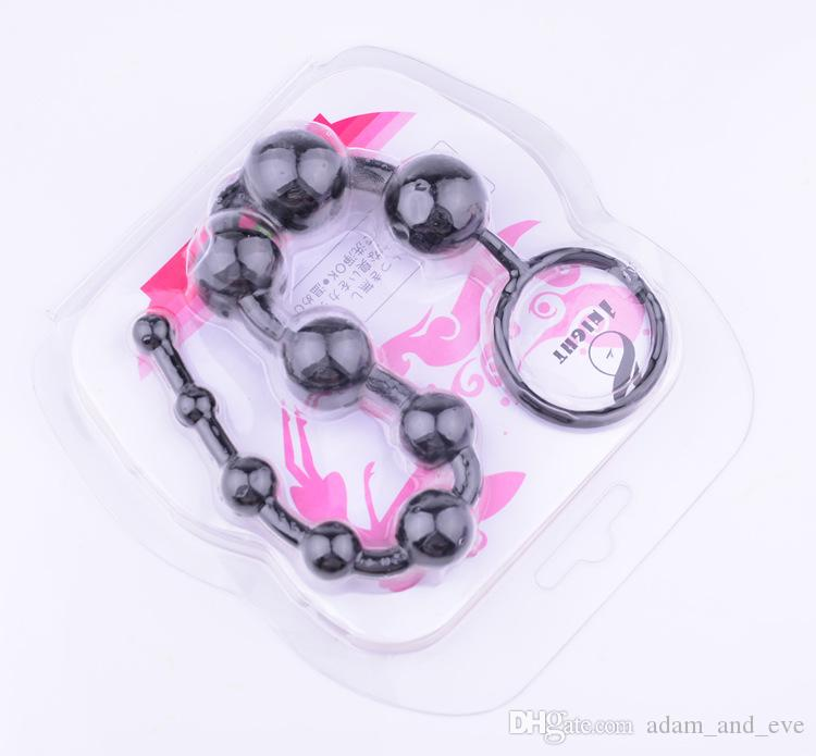 Perline anali a 13 pollici di gelatina anale perline anali le perline a testa flessibile adulti Massaggio anale Giocattoli anali uomini e donne