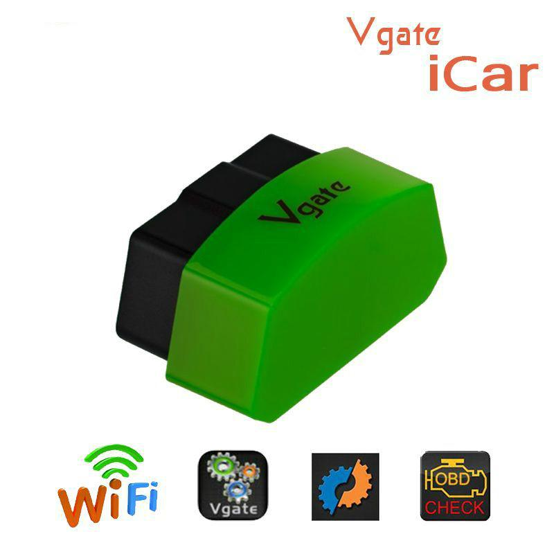 VGATE ICAR3 MINI WIFI OBD2 ELM327 support Android IOS five colors optional