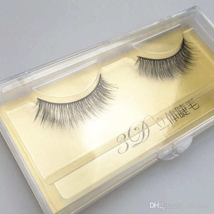 3D Tapered fake eyelashes natural thick lashes Comfortable lasshes Brand New False lashes extension Super Natural 3D Lashes /Hot 3D Ey