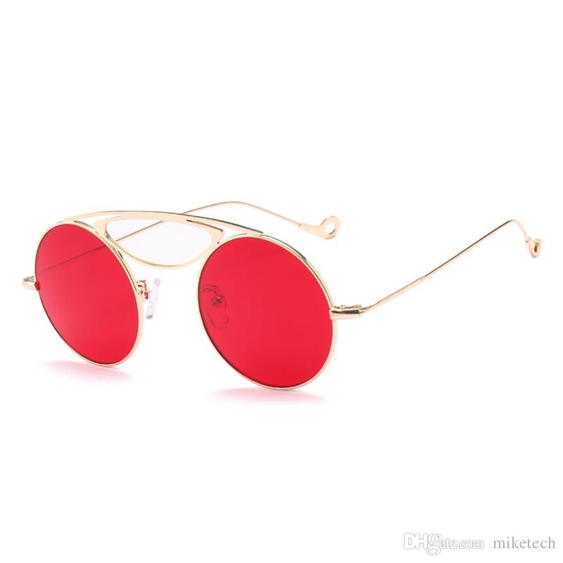 Compre Lente Vermelha Óculos De Sol Das Mulheres Óculos De Sol Designer De  Marca Óculos Polarizados Homens Mulheres Esporte Pesca Condução Shades Oculos  De ... 35d93c4673