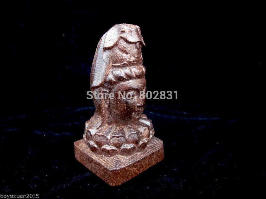 Feine China duftenden Holz geschnitzt ausgezeichnete HandWork Kuan-Yin Statuen