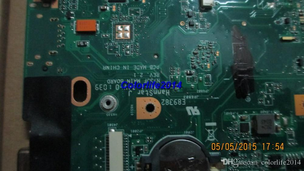 for Asus N73JQ N73JF REV 2.1 laptop motherboard mainboard/system boardfully tested & working perfect
