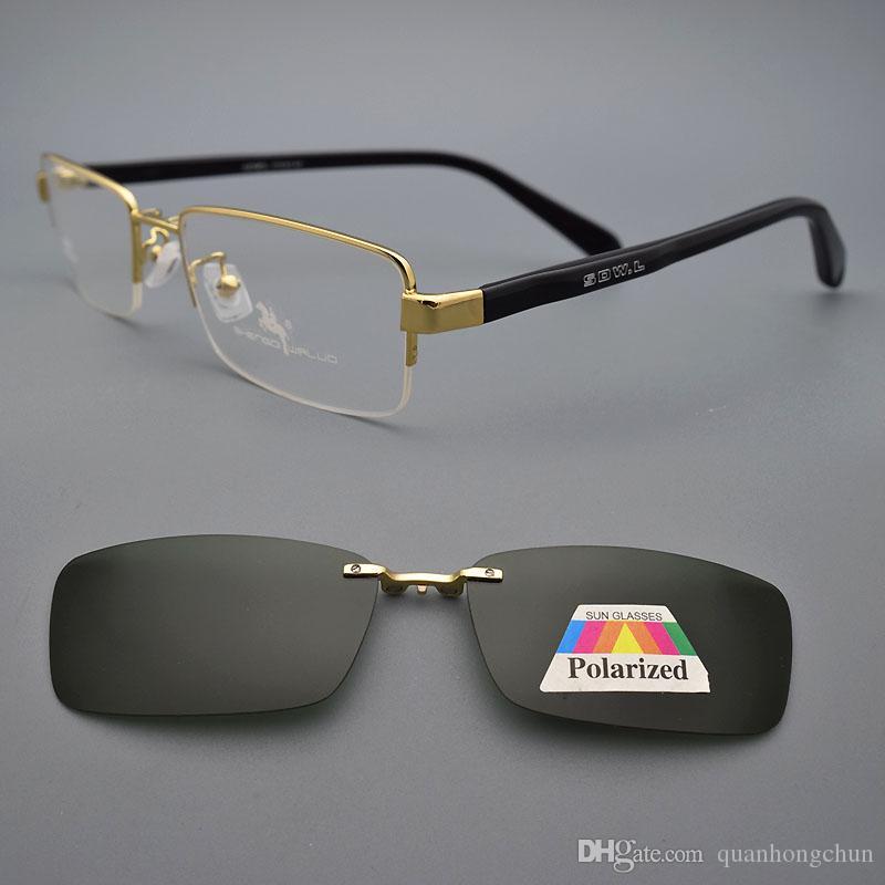 a4c6c23f22 De Gafas Medias Sol Hombres Compre Los De Prescripción Óculos Marco 6UpxC