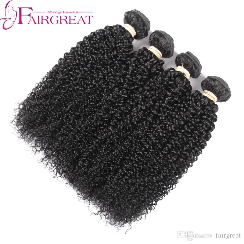 peruvian hair weave 4 bundle kinky curly human hair short human hair extensions peruvian hair kinky human hair extension Top Quality