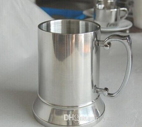 Retail and wholesales 16OZ Double Wall Stainless Steel Tankard,stainless steel beer mug