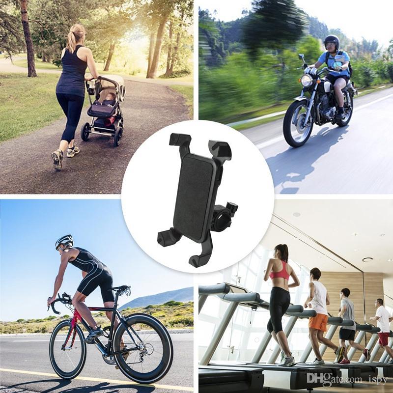 العالمي 360 الدورية دراجة دراجة حامل الهاتف المقود كليب حامل جبل القوس للهاتف المحمول الذكية مع حزمة البيع بالتجزئة