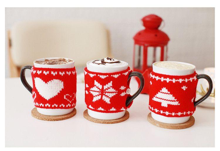 Winter New Creative Christmas Sweater Ceramic Mug For Starbuck ...