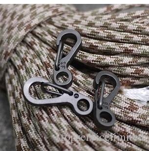 500 шт. Мини-рюкзак Clasps, альпинистые Карабинеры EDC Beychain Кемпинг Бутылка Крючки Paracord Тактическое выживание