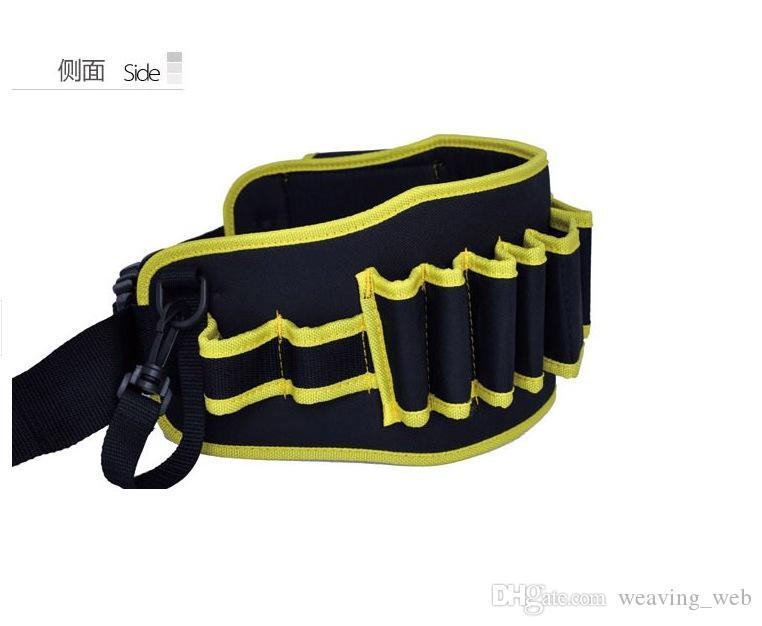 Elektrik tamir araçları çanta ambalaj anahtarı anahtar çanta tuval için kompakt su geçirmez taşınabilir dayanıklı bilek toka çanta hediye tel adam
