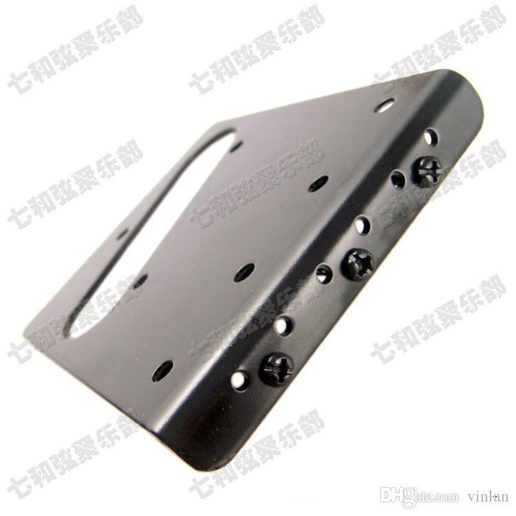T05 schwarz gitarrensaiten Brücke Sattel Hardtail Brücke Top Load E-gitarre Brücke gitarre teile zubehör