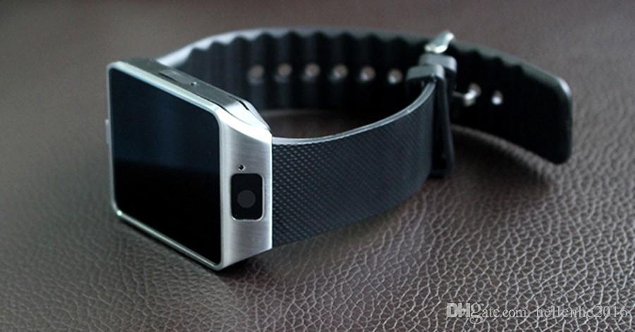 تحديث DZ09 smartwatch دعم بطاقة SIM facebook / whatsapp / Twitter ساعة ذكية بلوتوث مع كاميرا للهاتف المحمول سامسونج فون
