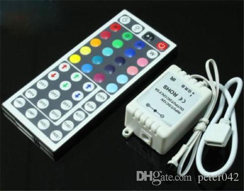 Dimmer telecomando IR 44keys SMD 3528 5050 RGB LED Light Strip DC 12V