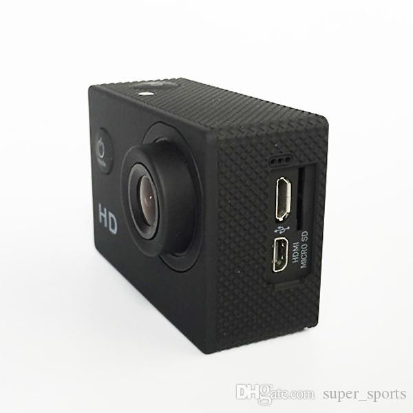 Waterproof 2 Inch LCD Screen SJ4000 style 720P Full HD Camcorders SJcam Helmet Sport DV 30M Action Camera DHL shipping