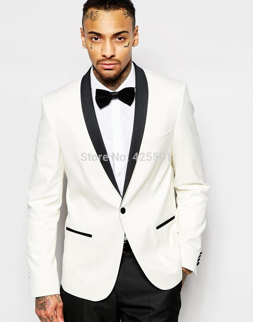 2018 Wholesale White Mens Suit Wedding Dress 2016 New Arrival Men ...