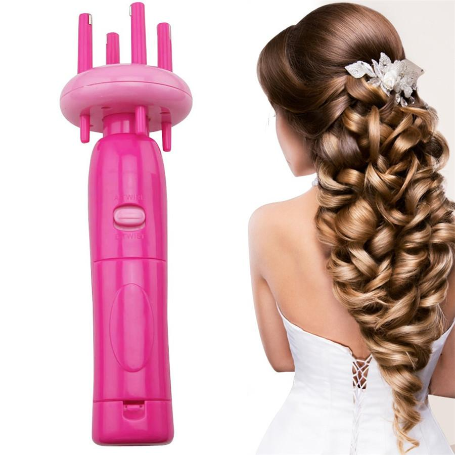 Hair Styling Tools Automatic Twist Braid Knitted Device Four Head