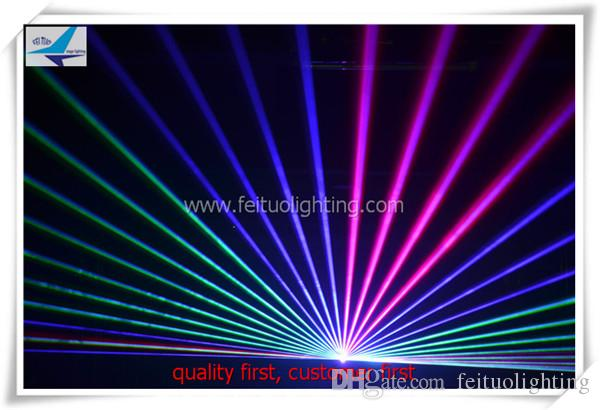 3W animazione rgb luce laser multi colore Club DJ Disco da illuminazione feituo