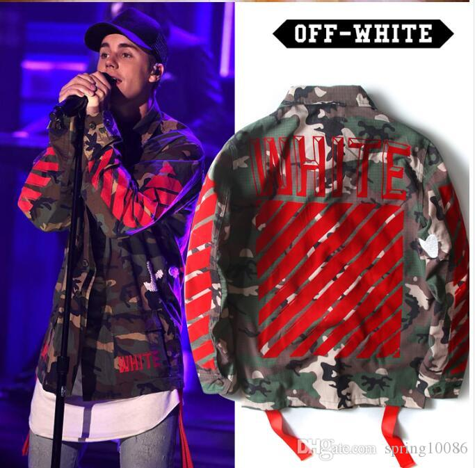 2017 Mens Off White Jacket Autumn 1: 1 Brand Winter Designer ...